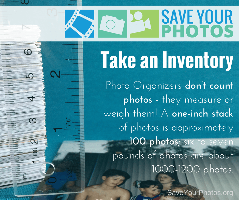 Save Your Photos: Take A Photo Inventory