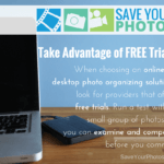 Save Your Photos: Take Advantage of FREE Software Trials
