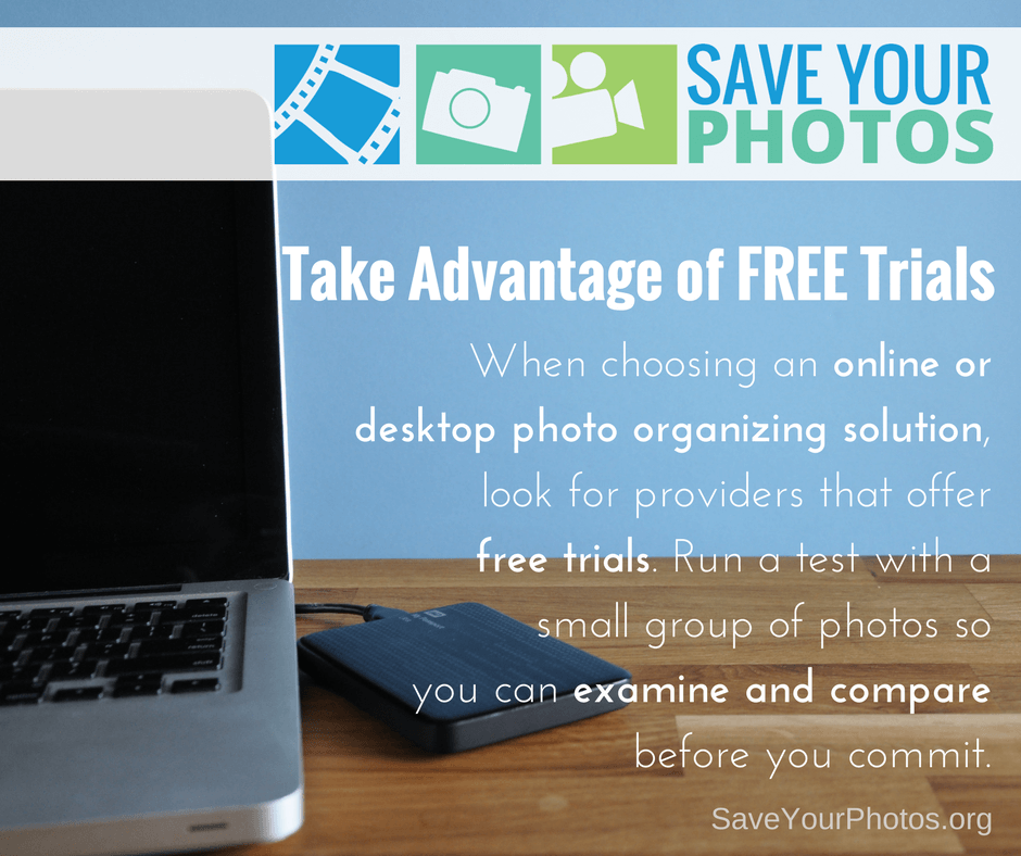 Save Your Photos: Take Advantage of Free Photo Organizing Software Trials | SaveYourPhotos.org
