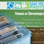 Save Your Photos: Themes or Chronological Sorting For Print Photos