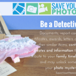 Save Your Photos: Be a Detective