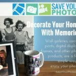 Save Your Photos: Decorate Your Home With Photos and Memories